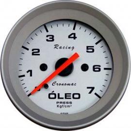 Manômetro Pressão Óleo Cronomac 52mm