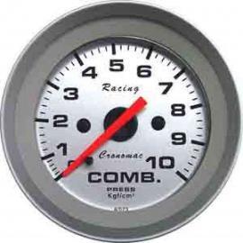Manômetro pressão Combustível 52mm