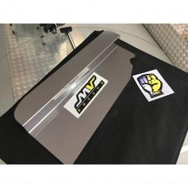 Chapa de Inox Acabamento Radiador VW AP G1